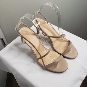 Ann Taylor Factory Nude Sandals